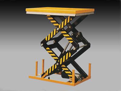 导轨式液压升降平台的作原理和维护措施